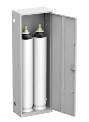 Шкаф для кислородного баллона ШГР 40-2 купить недорого